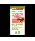 Chocolat au lait Rhubarbe Quinoa bio & équitable