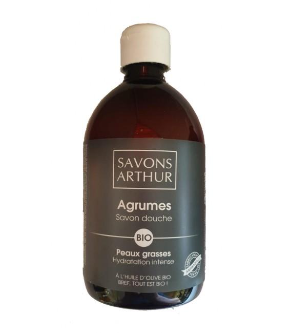 Savon douche Agrumes Bio - Nature & Progres