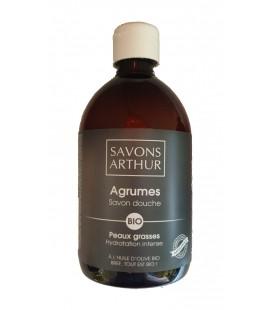 PROMO - Savon douche Agrumes Bio - Nature & Progres