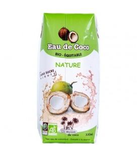 Eau de Coco nature - 330 ml bio & équitable