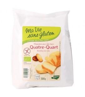 PROMO - Préparation pour Cake façon Quatre-Quart bio & sans gluten