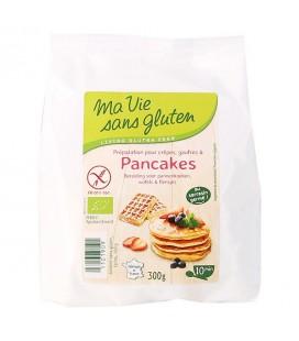 PROMO - Préparation pour Crêpes, Gaufres et Pancakes bio & sans gluten