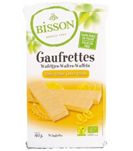 Gaufrettes Citron Bio