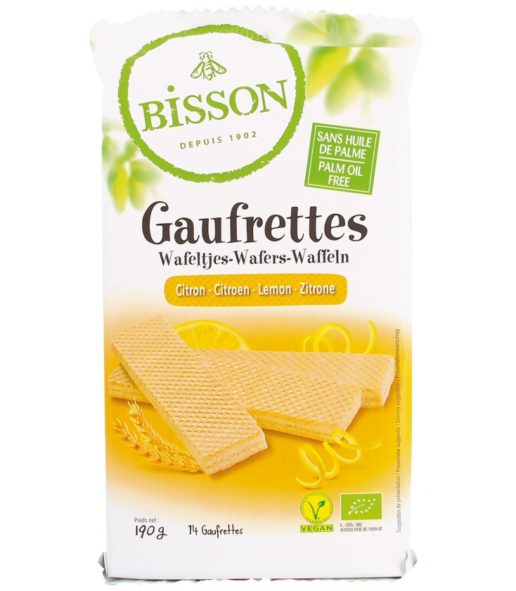 gaufrettes citron