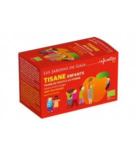 Tisane Enfants - Tisane de fruits - Pomme saveur Fruits Rouges bio