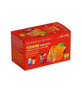 Tisane parfumée de fruits enfants bio