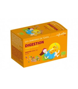 Tisane de plantes digestion bio