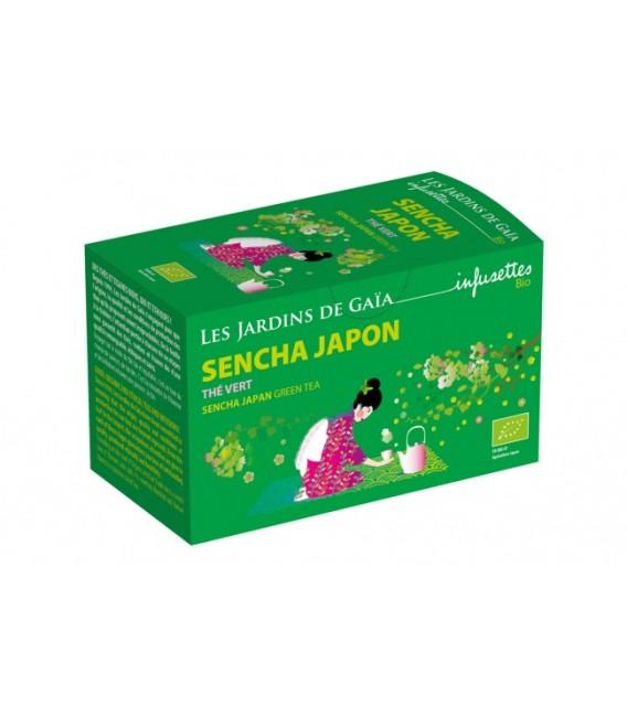 Thé vert Sencha Japon bio & équitable