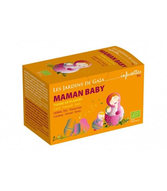 Maman Baby - Tisane de Plantes Cari Fenouil Anis bio
