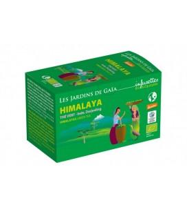 Himalaya - Thé vert - Inde, Darjeeling bio & demeter & équitable