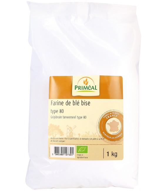 Farine de blé France T80 - 1 kg