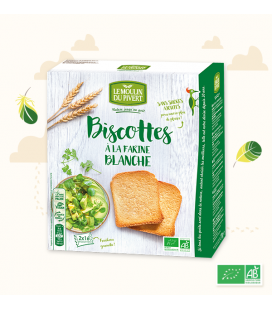 Petits pains grillés épeautre bio & vegan