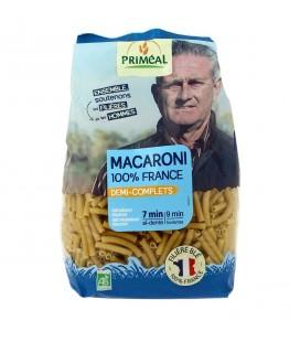 Macaroni demi-complets bio