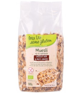 Muesli Chocolat Noir & Multi-Graines bio & sans gluten