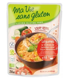 DATE PROCHE - Soupe Repas de Légumes Façon Minestrone bio & sans gluten