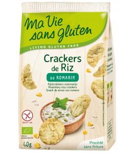 Crackers de Riz au Romarin bio & sans gluten