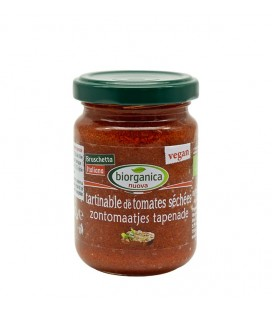 Tartinable de Tomates Séchées Bio et Vegan