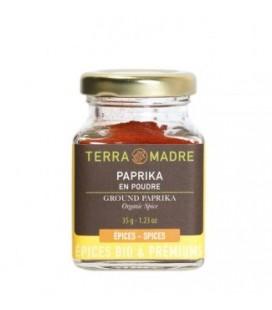 Paprika piment doux bio en poudre