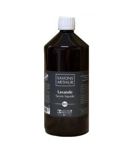 Savon liquide à la lavande avec pompe bio