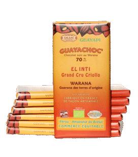 Guayachoc' Chocolat noir 70% au Warana