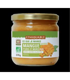 Mangue Purée & Morceaux bio et équitable