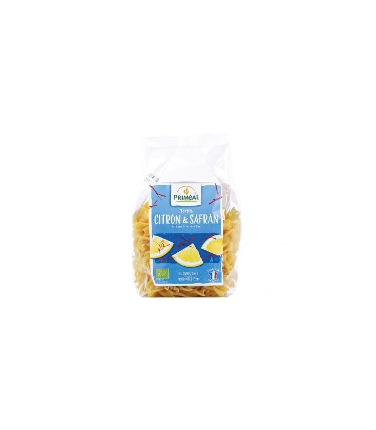 Tortils au citron et au safran bio