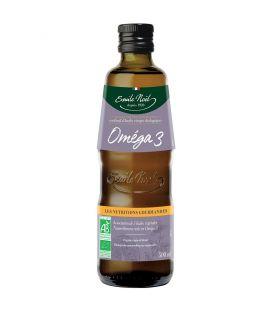 Cocktail d'huiles vierges riche en Oméga-3 bio & équitables