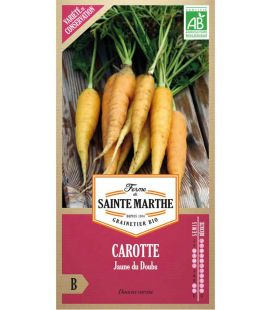 Carotte Jaune du Doubs - Semences reproductibles bio