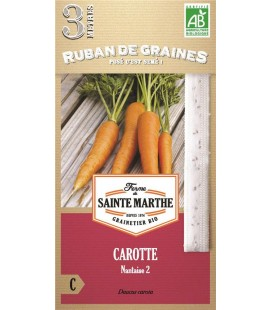 Carotte Nantaise 2 - Semences reproductibles bio
