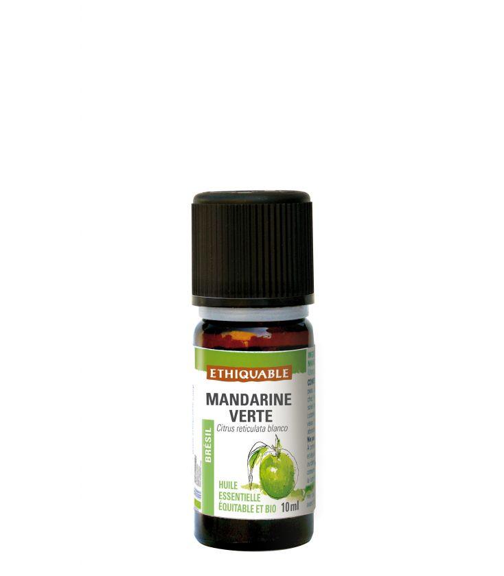 Mandarine Verte - Huile essentielle bio & équitable