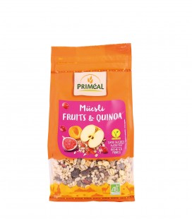 Muesli Fruits & Quinoa bio et vegan