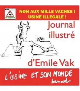 Journal illustré d'Émile Vak - l'usine et son monde : non aux mille vaches !