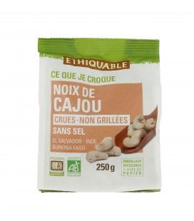 DATE DÉPASSÉE - Noix de Cajou Crues - Non Grillées Sans Sel bio & équitable
