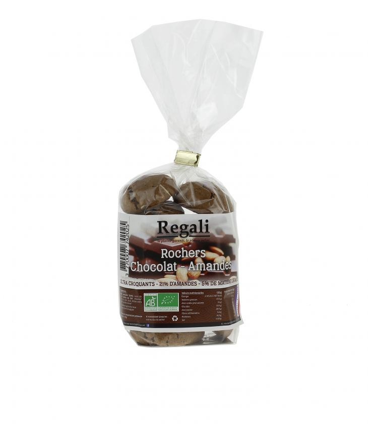 Rochers Chocolat-amandes Ultra Croquants bio