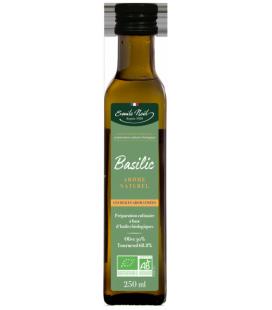 PROMO - Huile Aromatisée au Basilic Bio & Equitable - 250 ml