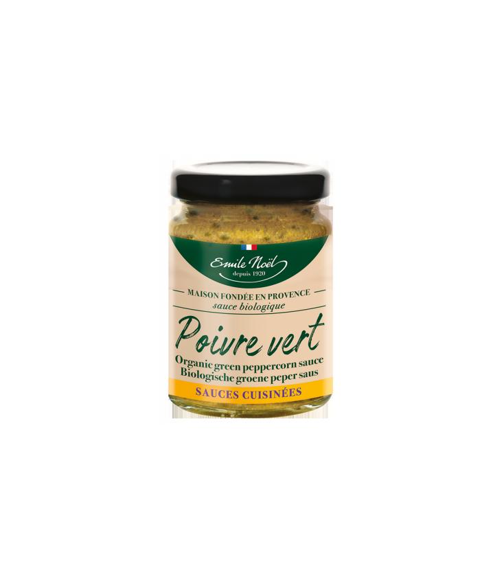 Sauce Poivre Vert Bio 90g