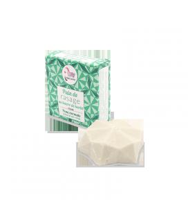 Pain de rasage solide Parfum thé vert - citron