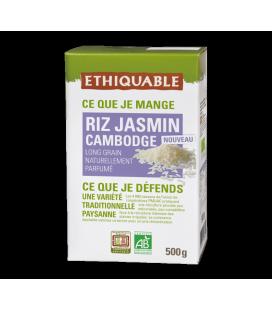 Riz Jasmin du Cambodge 500 g bio & équitable