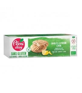 Sablés Citron et Chia Sans Gluten Bio