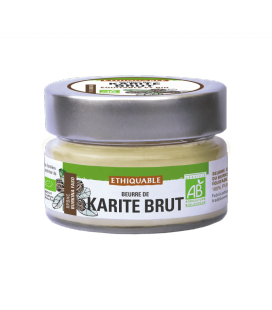 Beurre de karité Brut bio & équitable