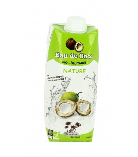 Eau de Coco nature - 500 ml bio & équitable