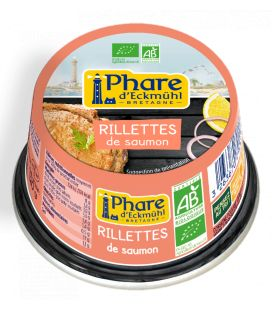 Rillettes de saumon bio 120g