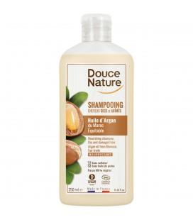Shampooing Huile d'Argan cheveux secs et abimés bio & équitable