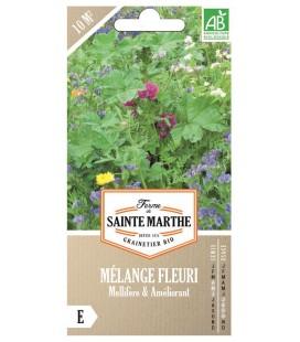 MÉLANGE FLEURI - Mellifère et Améliorant AB - Semences reproductibles bio