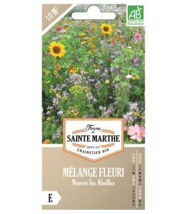 MÉLANGE FLEURI - Nourrir les abeilles AB - Semences reproductibles bio
