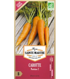 CAROTTE Nantaise 2 AB - Semences reproductibles bio