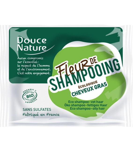 PROMO - Fleur de shampoing bio - Cheveux gras