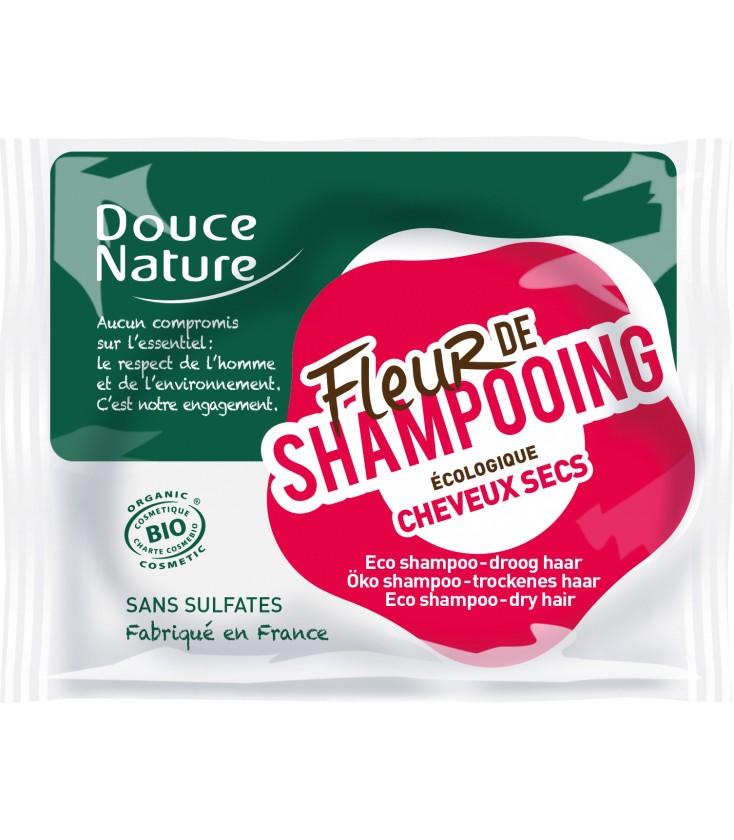 PROMO - Fleur de shampoing bio - Cheveux secs