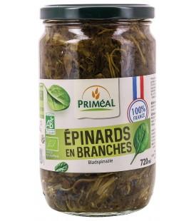 Conserves Epinard en Branches bio