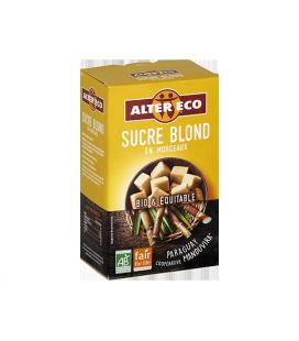 Sucre de Canne Blond en Morceaux bio et équitable